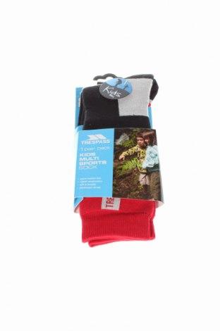 Detské ponožky  Trespass, Veľkosť 8-9y/ 134-140 cm, Farba Červená, 60% polyamide, 35% iné materiály, 5% elastan, Cena  8,97€
