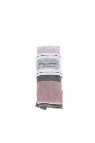 Detské pančuchy Phister & Philina, Veľkosť 9-12m/ 74-80 cm, Farba Popolavo ružová, 80% bavlna, 17% polyamide, 3% elastan, Cena  19,07€