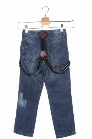 Детски дънки Twin-Set Simona Barbieri, Размер 5-6y/ 116-122 см, Цвят Син, Памук, Цена 16,90лв.