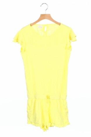 Salopetă pentru copii. Zara, Mărime 11-12y/ 152-158 cm, Culoare Galben, Bumbac, Preț 71,84 Lei