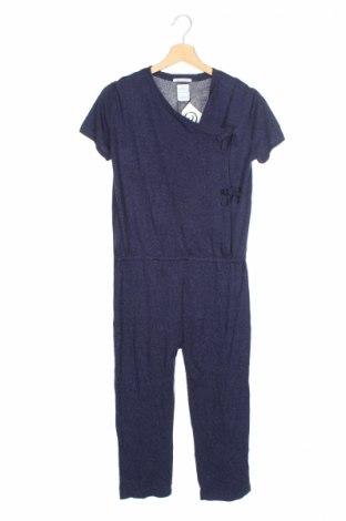 Salopetă pentru copii. Zara Knitwear, Mărime 13-14y/ 164-168 cm, Culoare Albastru, 29%acril, 25% viscoză, 24% lyocell, 22% bumbac, Preț 69,63 Lei