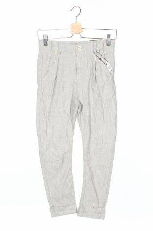Детски панталон Zara Kids, Размер 9-10y/ 140-146 см, Цвят Сив, Памук, Цена 24,57лв.
