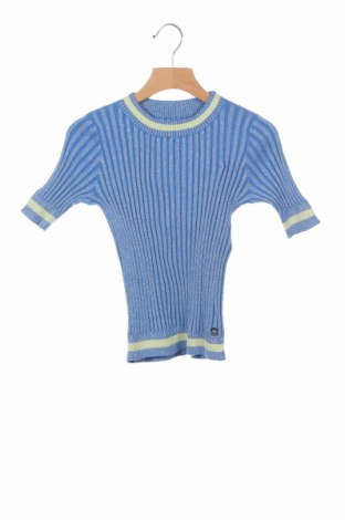 Детски пуловер Twin-Set, Размер 9-10y/ 140-146 см, Цвят Син, 90% памук, 10% полиестер, Цена 34,75лв.