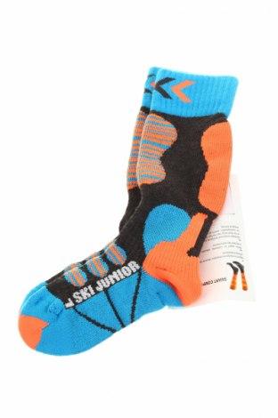 Детски спортни чорапи X-SOCKS, Размер 4-5y/ 110-116 см, Цвят Многоцветен, 45% полиестер, 32% акрил, 20% полиамид, 3% еластан, Цена 18,55лв.