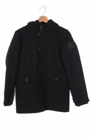 Детско палто Jack & Jones, Размер 11-12y/ 152-158 см, Цвят Черен, 75% полиестер, 20% вълна, 5% други нишки, Цена 92,16лв.