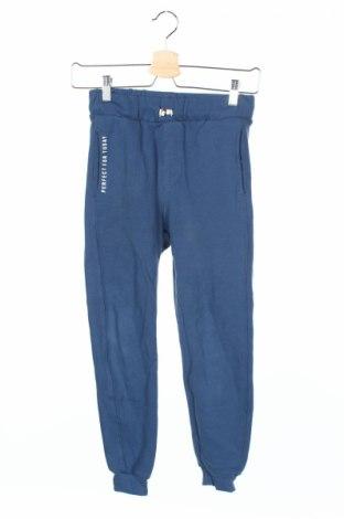 Pantaloni trening de copii Zara Kids, Mărime 8-9y/ 134-140 cm, Culoare Albastru, Bumbac, Preț 49,34 Lei