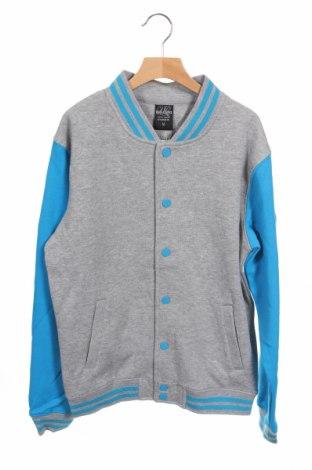 Детско яке Urban Classics, Размер 13-14y/ 164-168 см, Цвят Сив, 63% памук, 37% полиестер, Цена 59,25лв.