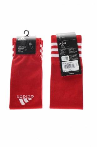 Калци Adidas, Размер M, Цвят Червен, Цена 17,64лв.
