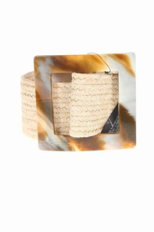 Curea Zara, Culoare Bej, Textil, Preț 57,26 Lei