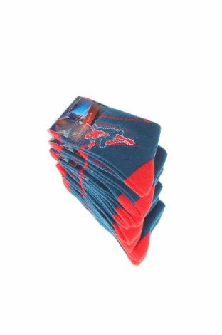 Set Marvel, Mărime 5-6y/ 116-122 cm, Culoare Albastru, 70% bumbac, 27% poliester, 3% elastan, Preț 48,08 Lei