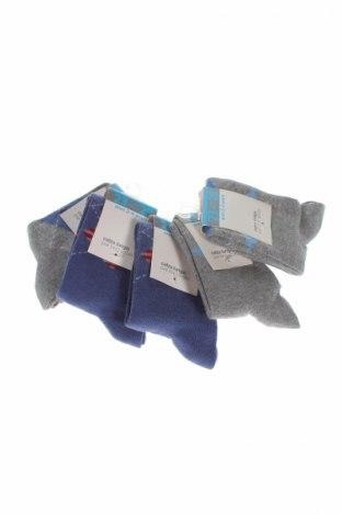 Комплект Oviesse, Размер 3-4y/ 104-110 см, Цвят Сив, 65% памук, 33% полиамид, 2% еластан, Цена 13,68лв.