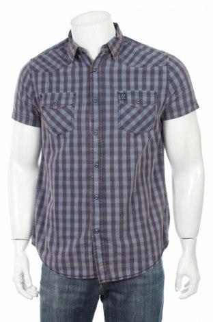 Мъжка риза Losan, Размер M, Цвят Син, Памук, Цена 10,96лв.