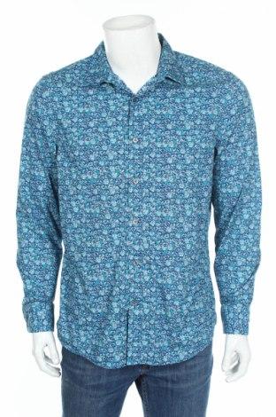 Ανδρικό πουκάμισο Perry Ellis, Μέγεθος L, Χρώμα Μπλέ, Βαμβάκι, Τιμή 11,59€