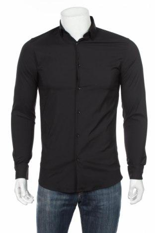 Ανδρικό πουκάμισο Zara, Μέγεθος S, Χρώμα Μαύρο, Τιμή 8,57€