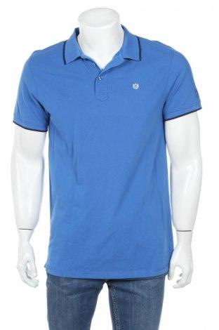 Tricou de bărbați Freeman T. Porter, Mărime L, Culoare Albastru, Bumbac, Preț 62,37 Lei