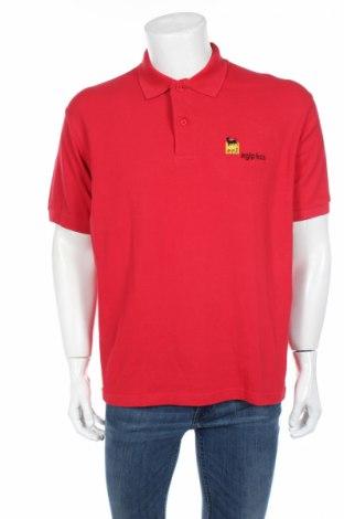 Мъжка тениска Slazenger, Размер M, Цвят Червен, Цена 21,84лв.