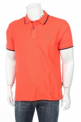 Мъжка тениска Visconti, Размер M, Цвят Оранжев, Памук, Цена 11,96лв.