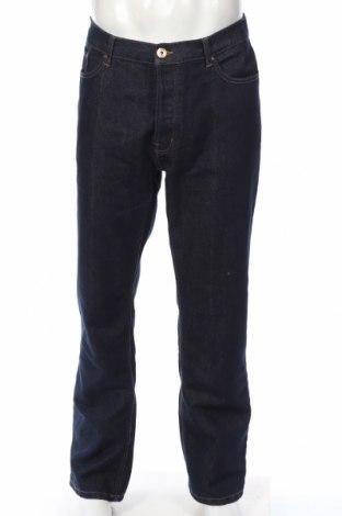 Мъжки дънки George, Размер XL, Цвят Син, 65% памук, 35% полиестер, Цена 31,50лв.