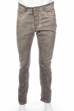 Męskie jeansy Identic, Rozmiar M, Kolor Beżowy, 98% bawełna, 2% elastyna, Cena 30,00zł