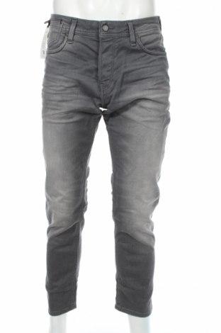 Blugi de bărbați Jack & Jones, Mărime M, Culoare Gri, 98% bumbac, 2% elastan, Preț 135,84 Lei