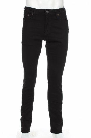 Blugi de bărbați Jack & Jones, Mărime M, Culoare Negru, 98% bumbac, 2% elastan, Preț 120,58 Lei