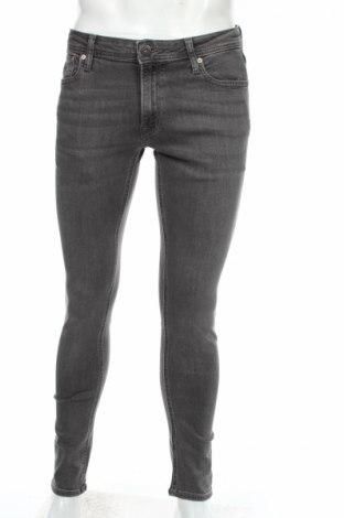Blugi de bărbați Jack & Jones, Mărime M, Culoare Gri, 98% bumbac, 2% elastan, Preț 110,18 Lei
