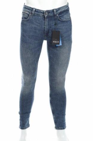 Blugi de bărbați Only & Sons, Mărime S, Culoare Albastru, 98% bumbac, 2% elastan, Preț 96,24 Lei