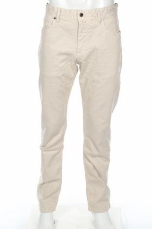 Мъжки дънки Pedro Del Hierro, Размер XL, Цвят Бежов, 98% памук, 2% еластан, Цена 48,95лв.