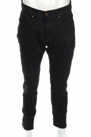 Męskie jeansy Zara, Rozmiar M, Kolor Czarny, 99% bawełna, 1% elastyna, Cena 60,38zł