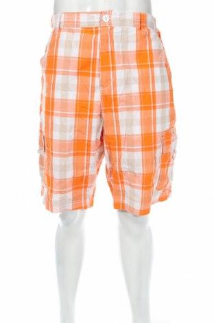 Мъжки къс панталон, Размер L, Цвят Многоцветен, Памук, Цена 4,73лв.