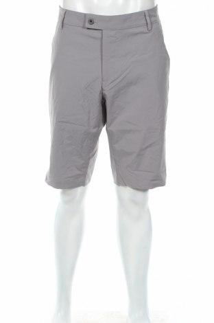 Мъжки къс панталон Abacus, Размер L, Цвят Сив, 96% полиестер, 4% еластан, Цена 28,35лв.