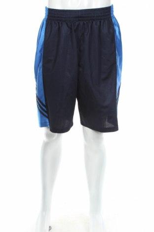 Pantaloni scurți de bărbați Adidas, Mărime L, Culoare Albastru, Poliester, Preț 32,82 Lei