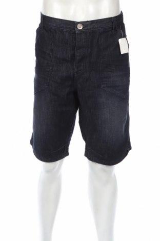 Мъжки къс панталон Kiabi, Размер XL, Цвят Син, 59% памук, 41% полиестер, Цена 26,40лв.