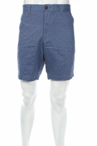 Мъжки къс панталон Marks & Spencer, Размер XL, Цвят Син, Памук, Цена 23,63лв.
