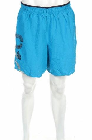 Мъжки къс панталон Reebok, Размер XXL, Цвят Син, Полиестер, Цена 18,90лв.