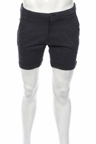 Мъжки къс панталон Selected Homme, Размер M, Цвят Син, 98% памук, 2% еластан, Цена 12,10лв.