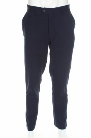 Ανδρικό παντελόνι ASOS, Μέγεθος L, Χρώμα Μπλέ, 88% πολυεστέρας, 12% βαμβάκι, Τιμή 5,20€