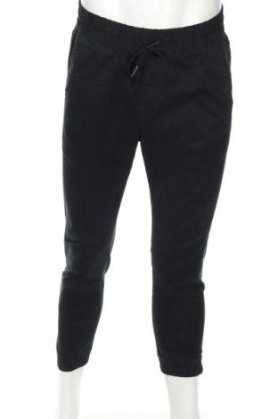 Ανδρικό παντελόνι Jack & Jones, Μέγεθος M, Χρώμα Μαύρο, 98% βαμβάκι, 2% ελαστάνη, Τιμή 13,51€