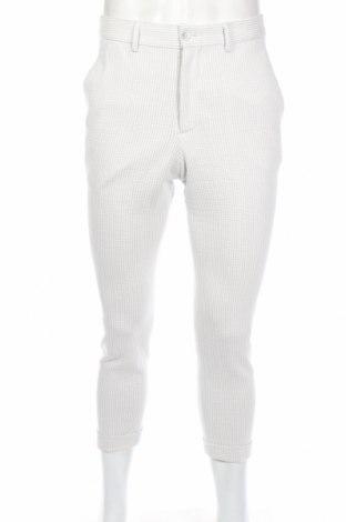 Ανδρικό παντελόνι Zara, Μέγεθος S, Χρώμα Γκρί, 63% βαμβάκι, 36% πολυεστέρας, 1% ελαστάνη, Τιμή 19,56€