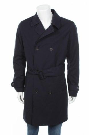 Pánsky prechodný kabát  Premium By Jack & Jones, Veľkosť L, Farba Modrá, 75% polyester, 25% viskóza, Cena  42,99€
