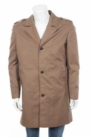 Pánský přechodný kabát  Selected Homme, Rozměr L, Barva Béžová, 66% polyester, 34% bavlna, Cena  504,00Kč