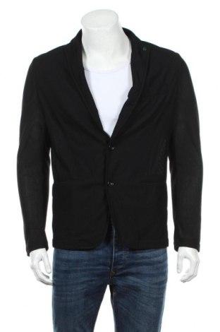 Pánske sako  Zara Man, Veľkosť XL, Farba Čierna, 77% polyamide, 23% elastan, Cena  13,27€