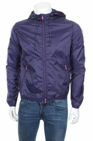 Ανδρικό μπουφάν U.S. Polo Assn., Μέγεθος M, Χρώμα Μπλέ, Πολυαμίδη, Τιμή 32,73€