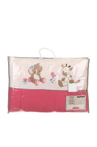 Обиколник за детско легло Nattou, Цвят Розов, Полиестер, Цена 67,20лв.