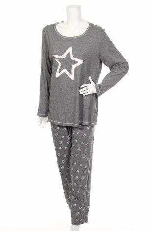 Pijama C&A, Mărime L, Culoare Gri, 70% bumbac, 30% viscoză, Preț 94,74 Lei