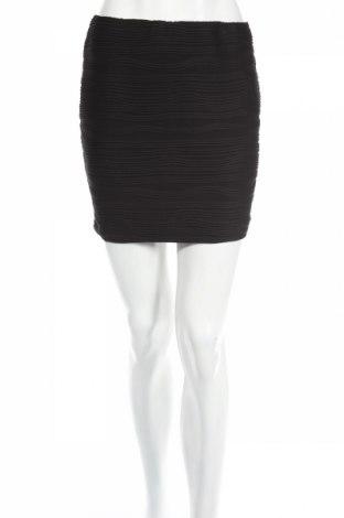 Пола Amisu, Размер M, Цвят Черен, 5% еластан, 95% полиестер, Цена 3,57лв.