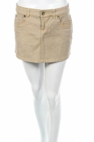 Φούστα Motivi, Μέγεθος S, Χρώμα  Μπέζ, 97% βαμβάκι, 3% ελαστάνη, Τιμή 5,53€