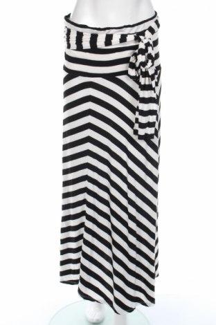 Sukňa Now, Veľkosť XL, Farba Čierna, Viskóza, elastan, Cena  8,19€