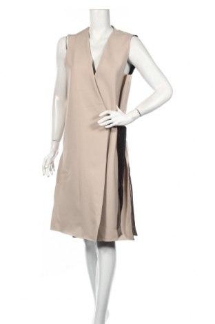 Φόρεμα Topshop, Μέγεθος L, Χρώμα  Μπέζ, 91% πολυεστέρας, 9% ελαστάνη, Τιμή 24,43€