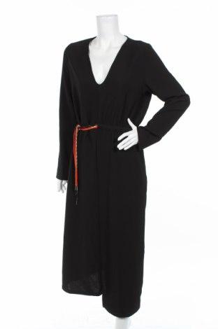 Rochie Zara, Mărime XL, Culoare Negru, 95% poliester, 5% elastan, Preț 130,74 Lei